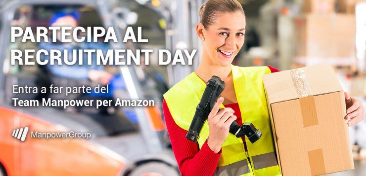 Save The Date – Manpower e Amazon ti portano al lavoro