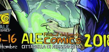 AleComics, il 15 e il 16 Settembre, ad Alessandria